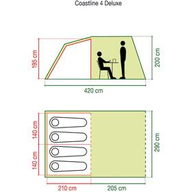 Coleman Coastline 4 Deluxe Tente